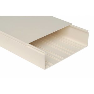Kabelgoot, installatiekanaal  200 x 100 mm, kleur wit