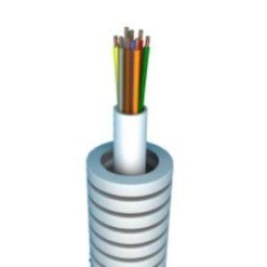 Preflex Flexibele buis 50m met alarm kabel 6 x 0,22