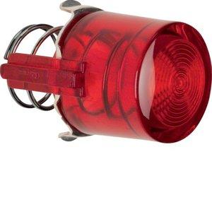 Berker Knop voor drukknop/lichtsignaal-element E10, rood transp - 1229