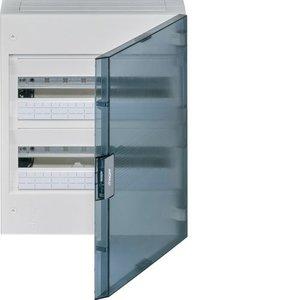 Hager  Vega verdeelkast 2rij 36mod doorzichtige deur