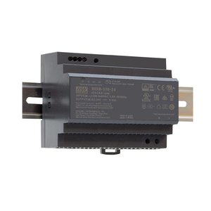 Meanwell  Voeding Ultra slim DIN rail 220V/24VDC 6.25A 150W - HDR-150-24