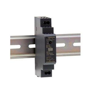Meanwell Voeding Ultra slim DIN rail 220V/12VDC 1.25A 15W - HDR-15-12