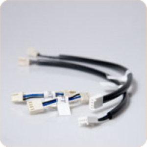 Conson  Buskoppeling horizontaal rechts 3 cm van 3 naar 4-polig