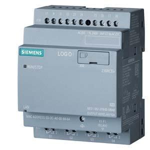 Siemens Logo! 8.2 230RCEO, no display, 230V/230V/relay, 8DI/4DO