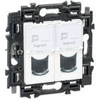 Legrand Valena Next 2xRJ45 UTP cat6 Set Wit  - 741571