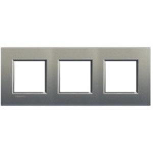 Bticino Afdekplaat drievoudig LivingLight  ♥ 71 Avenue - LNA4802M3AE
