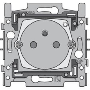 Niko Slim stopcontact Zigbee Geconnecteerd & schakelbaar 170-33505