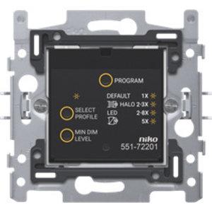 Niko Geconnecteerde dimmer, 3 – 200 W, 2-draads, 60 x 71 mm - 551-72201