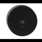 Qubus Mini-detector met zwarte + afwerkset rond - SEN01MB/RMB