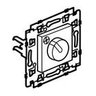 Legrand Valena Next ventilatiebediening 3 posities Set Zwart klauwen - 741758