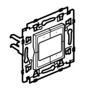 Legrand Valena Next 4 compacte drukknoppen Set Alu klauwen - 741653