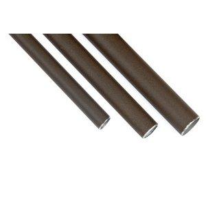 Fontini  Metalen buis Ø16mm verouderd metaal  - 3m ENKEL AFHALEN