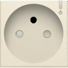 Niko Afwerking  geconnecteerd  stopcontact Creme 100-66630