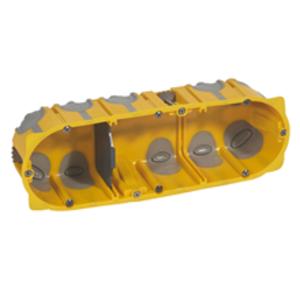 Legrand Luchtdichte ecobatibox  50mm 3 mechan- 080033