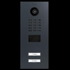 DoorBird DoorBird Videofoon met internet verbinding Antraciet inbouw D2102V