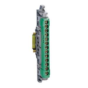 Legrand Aardingsklemmen 113 mm IP2x - 12x16 + 1x25mm² - groen
