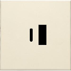 Niko Afwerkingsset  smart USB-A en USB-C-lader, cream - 100-68002