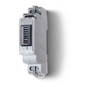 Finder KWh teller analoog 1F 10/32A 230V MID ANNEX B+D, enkel tarief