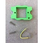 Bubox Houder voor mecanisme 2 vijzen+ aardingsdraad