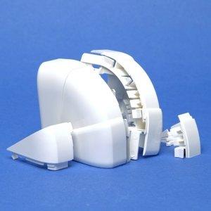Legrand  Variabele buitenhoek DLP design 50 x 105 mm - wit - 10619