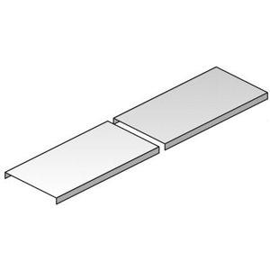 Galvanisé deksel 100 mm, 2m - D100