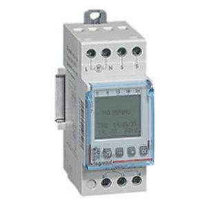 Legrand Klok -Schemerschakelaar programmeerbaar 1 functie 250 V - 16A - 1 mod.