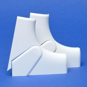 Legrand Variabele binnenhoek DLP design 50x105 mm deksel 65mm