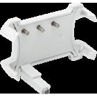 Niko ledverlichtingseenheid met automatische aansluiting voor schakelaars met insteeklemmen, witte led
