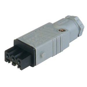 Hirschmann Netspanningsconnector ST-series STAK 3 N grijs