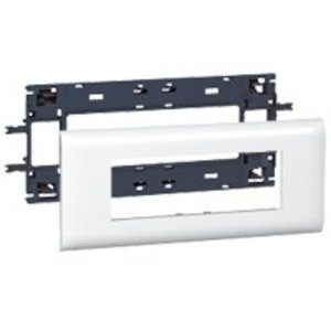 Legrand DLP (85mm) houder en afdekplaat wit, 6 modules