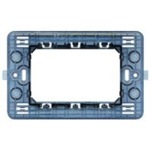 Bticino Houder 3 vierkante modules voor de Magic serie