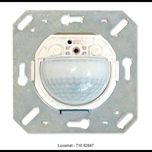 Luxomat Bewegingsmelder wandmontage - aanw.-geluidsmelder 180°, 11-48 VAC/DC 3A, 10m
