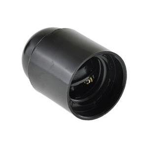 Fitting E27 zwart