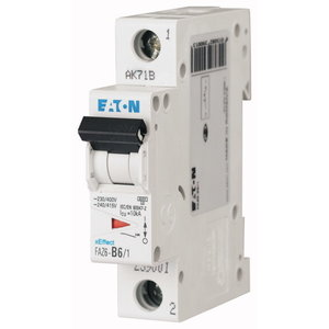 Eaton Automaat  1P 10A  C 6kA  -  FAZ6-C10/1