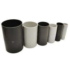 PVC mof 25mm licht grijs