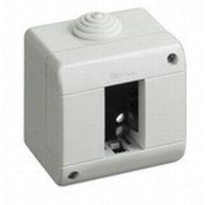 Bticino Opbouwdoos Idrobox IP 40 horizontaal - 1+2 kabelingang diam. 23mm - 25401