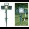 Waterbestendig Dubbel stopcontact met time IP44