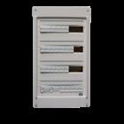 Schneider Voorbedrade zekeringkast  72 mod 3 fase 400V+N 63A