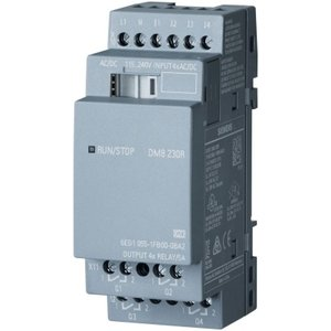 Siemens LOGO! DM8 230R expansion module, PS/I/O - 6ED10551FB000BA2