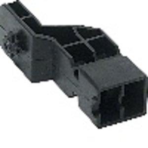 Hager Adaptor kabelgeleider klein/groot - UZ01V1