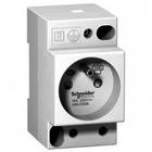 Schneider DIN stopcontact iPC  2P+E  16A  250VAC  NFC 15100
