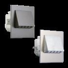 Oriëntatieverlichting  WarmWit  Staal -zilver