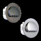 Oriëntatieverlichting  WarmWit  Staal Zilver