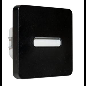 Oriëntatieverlicht. LED Bar 3100K 230V Zwart ABS Lijn