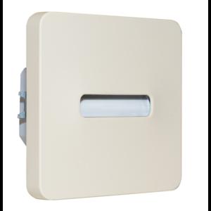 Oriëntatieverlicht. LED Bar 3100K 230V Créme ABS Lijn
