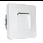 Oriëntatieverlichting  WarmWit LED ABS vierkant