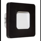 Oriëntatieverlichting  WarmWit LED ABS Vierkant Zwart