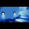 Oriëntatieverlicht. LED Rond 3100K 230V Staal Antraciet