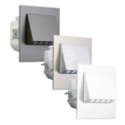 Oriëntatieverlichting  WarmWit  Staal Wit