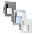 Oriëntatieverlichting  WarmWit  Staal Asymmetrisch  Wit